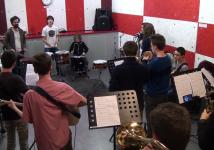 Concert de fin de stage : Elèves de l'Ecole de Musique de Joué + JB de PNEU !