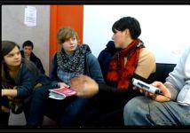 Les journalistes en herbe interviewent MESPARROW