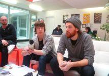Les journalistes en herbe interviewent CHILL BUMP