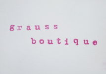 Les chroniques de Pauline: LA GRAUSS BOUTIQUE – EP Grauss Boutique